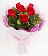 9 adet kaliteli görsel kirmizi gül  Adana çiçek siparişi çiçek gönderme