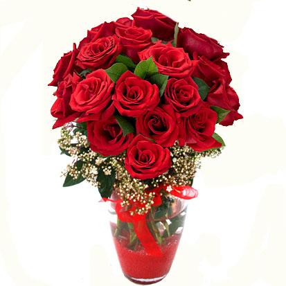 Adana çiçek siparişi sitesi   9 adet kirmizi gül