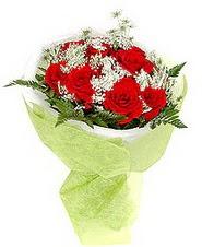 Adana çiçekçiler çiçek , çiçekçi , çiçekçilik  7 adet kirmizi gül buketi tanzimi