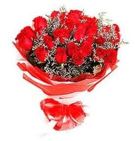 Adana çiçek mağazası , çiçekçi adresleri  12 adet kırmızı güllerden görsel buket