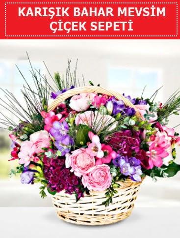 Karışık mevsim bahar çiçekleri  Adanaya çiçek ucuz çiçek gönder