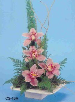 Adanadaki çiçekçiler çiçekçi telefonları  vazoda 4 adet orkide