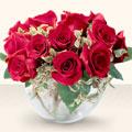 Adana çiçek online çiçek siparişi  mika yada cam içerisinde 10 gül - sevenler için ideal seçim -