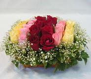 15 adet reprenkli gül sepeti   Adana çiçek satışı çiçek yolla