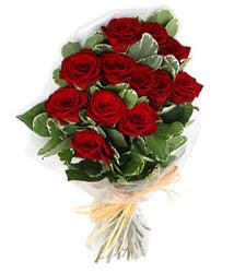 Adana çiçek yolla , çiçek gönder , çiçekçi   9 lu kirmizi gül buketi.