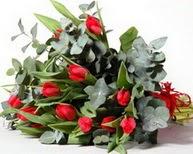 Adana ucuz çiçekçi çiçek satışı  11 adet kirmizi gül buketi özel günler için