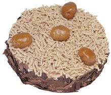 Kestahaneli yas pasta 4 ile 6 kisilik pasta  Adana çiçek siparişi sitesi