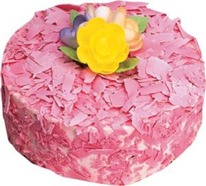 pasta siparisi 4 ile 6 kisilik framboazli yas pasta  Adana çiçek satışı çiçek yolla