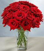 Adana çiçek siparişi sitesi  Sevdiklerinize özel ürün 12 adet cam içerisinde kirmizi gül  Adanada çiçekçiler hediye çiçek yolla