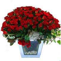 Adana çiçekçiler   101 adet kirmizi gül aranjmani