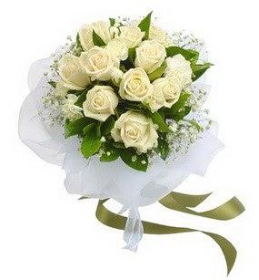 Adana online çiçekçi , çiçek siparişi  11 adet benbeyaz güllerden buket