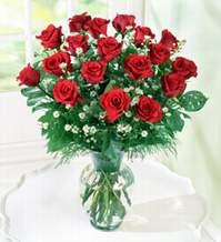 Adana internetten çiçek satışı  9 adet mika yada vazoda kirmizi güller