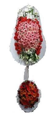 çift katlı düğün açılış sepeti  Adana internetten çiçek satışı