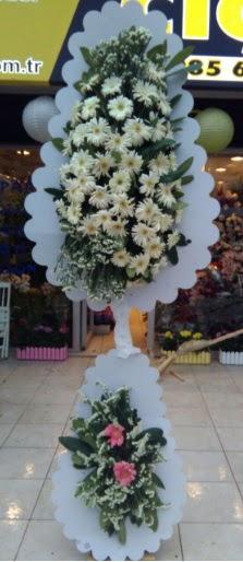 Çift katlı düğün nikah açılış çiçeği  Adanadaki çiçekçiler çiçekçi telefonları