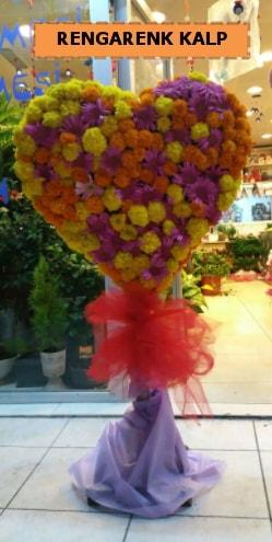 Ankara mevsim çiçeklerinden kalp perförje  Adanadaki çiçekçiler çiçekçi telefonları