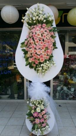 Çift katlı özel şahane sepet çiçeği  Adanadaki çiçekçiler çiçekçi telefonları