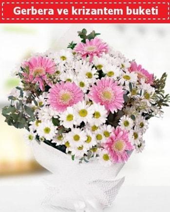 Papatya ve Gerbera Buketi  Adana çiçekçiler çiçek , çiçekçi , çiçekçilik